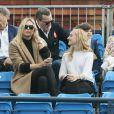 Maria Sharapova lors de la finale du tournoi du Queen's remporté par son homme Grigor Dimitrov face à Feliciano Lopez (6-7[8], 7-6[1], 7-6 [6]), le 15 juin 2014 à Londres
