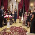 """Exclusif - Steven, sa mère Corinne et Elsa Fayer - Finale de l'émission """"Qui veut épouser mon fils ?"""" saison 3 diffusée sur TF1."""
