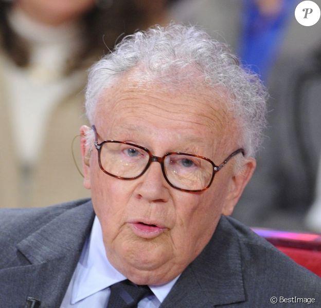 Philippe Bouvard lors de Vivement dimanche le 29 Janvier 2013
