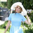 Danielle Lineker au premier jour du Royal Ascot, le 17 juin 2014