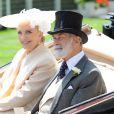 La princesse et le prince Michael de Kent au premier jour du Royal Ascot, le 17 juin 2014