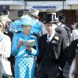 Le vicomte Linley au premier jour du Royal Ascot, le 17 juin 2014