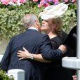 Le prince Andrew et Zara Phillips au premier jour du Royal Ascot, le 17 juin 2014