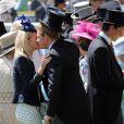 Le prince Harry et Autumn Phillips au premier jour du Royal Ascot, le 17 avril 2014