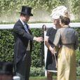 Le prince Harry, Zara Phillips et la princesse Anne au premier jour du Royal Ascot, le 17 avril 2014