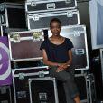 Irma au concert M6 Music Live, à Issy-les-Moulineaux, le 14 juin 2014.