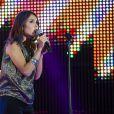 Joyce Jonathan au concert M6 Music Live, à Issy-les-Moulineaux, le 14 juin 2014.