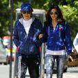 Paul McCartney avec sa femme Nancy Shevell dans les rues de Londres le jour de ses 72 ans, le18 juin 2014