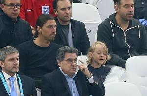 Zlatan Ibrahimovic : Avec femme et enfants au côté d'une triste Coleen Rooney