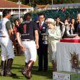 """La reine Elisabeth II - La famille royale d'Angleterre au 2e jour de la course hippique """"Royal Ascot"""", le 18 juin 2014. La famille a ensuite participé à la """"Eton Tea Party""""."""