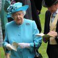 La reine Elisabeth - 3e jour des courses Royal Ascot à Berkshire, le 19 juin 2014