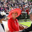 """Lady Penny Romsey - La famille royale d'Angleterre au 2e jour de la course hippique """"Royal Ascot"""", le 18 juin 2014. La famille a ensuite participé à la """"Eton Tea Party""""."""