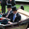 Prince Andrew, prince Harry - 3e jour des courses Royal Ascot à Berkshire, le 19 juin 2014