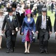 La princesse Anne d'Angleterre - 3e jour des courses Royal Ascot à Berkshire, le 19 juin 2014
