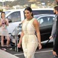 Kim Kardashian, invitée star de la soirée du MailOnline à Cannes, le 18 juin 2014.
