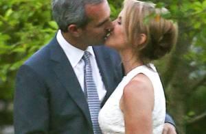Katie Couric, 57 ans : Mariée radieuse, elle a dit ''oui'' à John Molner
