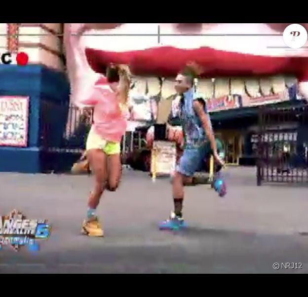 """Anaïs et Eddy - """"Les Anges de la télé-réalité"""" sur NRJ12. Episode du 24 juin 2014."""