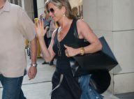 Jennifer Aniston : Look décontracté pour une séance shopping avec son chéri