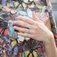 Marica Pellegrinelli à l'hôtel Salomon de Rothschild pour le défilé homme Valentino printemps-été 2015. Paris, le 25 juin 2014.