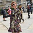 Clotilde Courau à l'hôtel Salomon de Rothschild pour le défilé homme Valentino printemps-été 2015. Paris, le 25 juin 2014.
