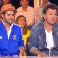 Jamel Debbouze et Michaël Youn sur le plateau de Touche pas à mon poste, le mercredi 25 juin sur D8.
