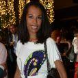 Exclusif - Elizabeth Tchoungui lors de la soirée Nicolas Feuillatte au Yoyo - Palais de Tokyo à Paris, le 26 juin 2014.