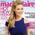 Katherine Heigl en couverture de Marie Claire - édition britannique juillet 2014