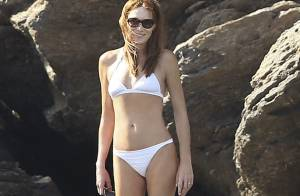 Carla Bruni-Sarkozy : Sublime en bikini avec ses enfants malgré la tempête