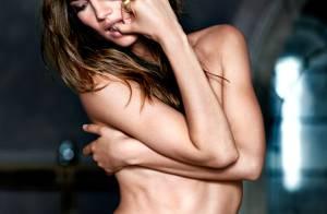 Lily Aldridge sexy en lingerie pour une chaude soirée