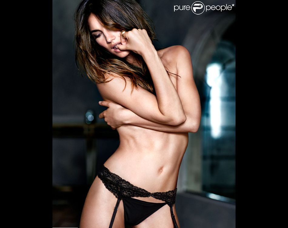 Lily Aldridge prend la pose pour Victoria's Secret
