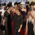 Défilé haute couture Alexis Mabille automne-hiver 2014-2015 à l'hôtel d'Évreux. Paris, le 7 juillet 2014.