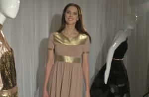 Fashion Week : Frédérique Bel, Cléopâtre glamour chez Stéphane Rolland