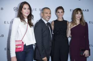 Fashion Week : Anouchka Delon et trois princesses, radieuses pour Elie Saab