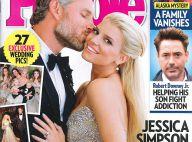 Jessica Simpson, mariée divine et amincie avec son homme : ''C'était magique''