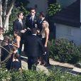 Mariage de Jessica Simpson et de Eric Johnson à Santa Barbara, le 6 juillet 2014.