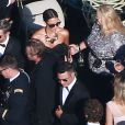 Jessica Alba au mariage de Jessica Simpson et de Eric Johnson à Santa Barbara le 6 juillet 2014.