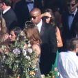 Mariage de Jessica Simpson et d' Eric Johnson à Santa Barbara, le 5 juillet 2014.
