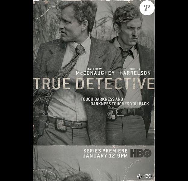 Matthew McConaughey et Woody Harrelson dans True Detective, 2014.