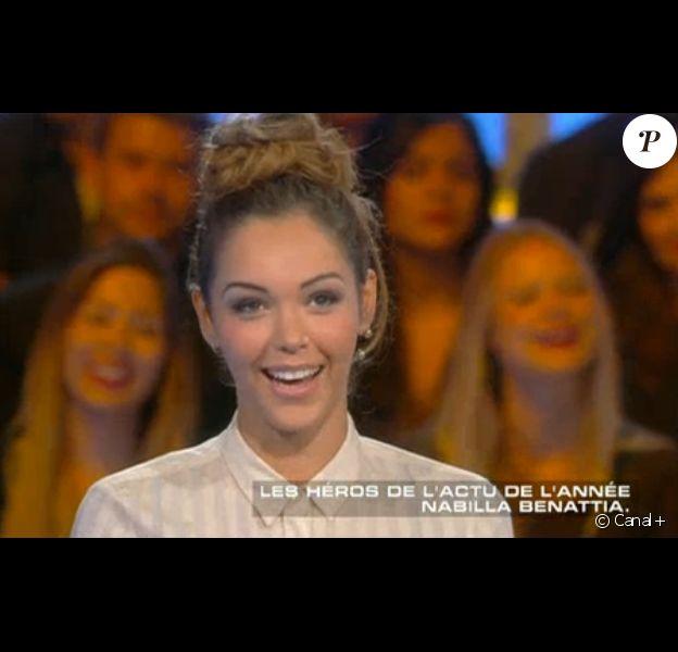 Nabilla Benattia, invitée de Salut les Terriens ! le samedi 12 juillet 2014.
