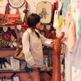 Rachel Bilson enceinte fait du shopping à Los Angeles, le 15 juillet 2014.15/07/2014 - Los Angeles