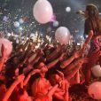 Nicole Scherzinger lors de son concert au club G-A-Y de Londres, le 13 juillet 2014.