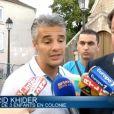 Farid Khider s'exprime sur l'affaire du drame de la colonie de vacances de l'Ariège, le 17 juillet 2014 sur BFM TV