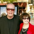 James Garner et sa femme Lois Clark à Los Angeles le 22 juin 2004.