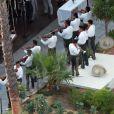 Exclusif - Mariage de Behati Prinsloo et Adam Levine à la Flora Farm à Los Cabos, le 19 juillet 2014. Le couple a choisi de s'unir au Mexique avant de s'envoler pour l'Afrique du sud