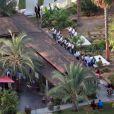 Exclusif - Mariage de Behati Prinsloo et Adam Levine à la Flora Farm à Los Cabos, le 19 juillet 2014. Parmi les invités, il y avait Jason Segel, Jonah Hill, Erin Heatherton, Coco Rocha, Robert Downey Jr. et les membres du groupe Maroon 5!