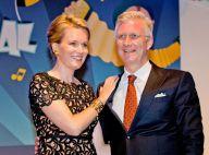 Mathilde de Belgique : Sublime et complice avec le roi Philippe au bal national