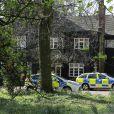 Les officiers de la police scientifique continue d'inspecter la maison de Peaches Geldof, où elle a été retrouvée morte le 7 avril 2014, à Wrotham. Le 8 avril 2014.