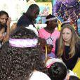 Chelsea Clinton, enceinte, à l'événement Pirate and Princess: Power of Doing Good organisé par la chaîne Disney Junior dans le quartier d'Harlem à New York, le 25 juillet 2014. La fille d'Hillary Clinton s'est adressée à des enfants de 2 à 7 ans et leur famille pour leur rappeller l'importance de s'investir pour faire le bien autour de soi.