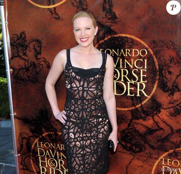 Adrienne Frantz à Beverly Hills, le 27 août 2012.
