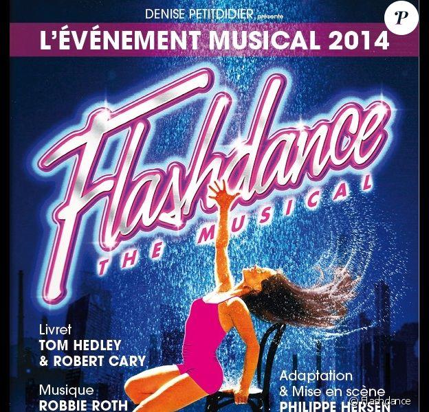 Flashdance, sur la scène du Théâtre du Gymnase à Paris, dès le 23 septembre 2014.